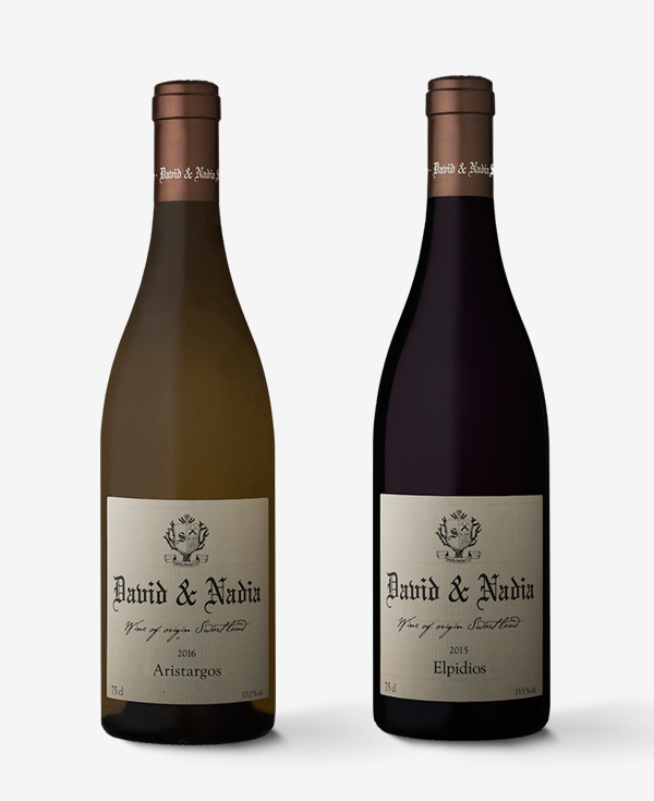 David & Nadia Wine Range