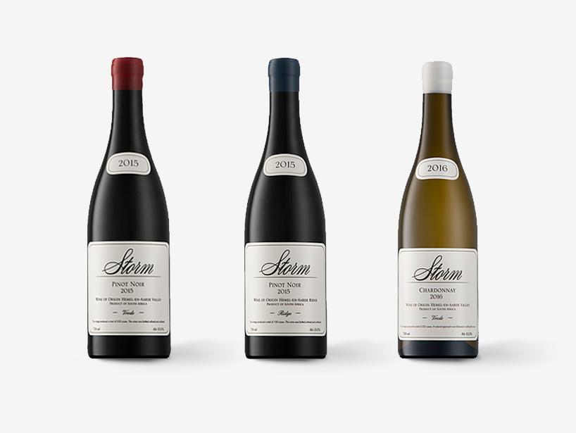 Storm Wine Range