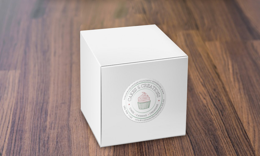 Cakes-and-Creations-Corporate-Identity-Sticker-on-box