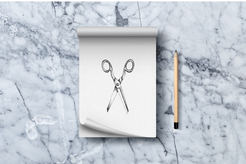 Love Hair Boutique Sketch Pad