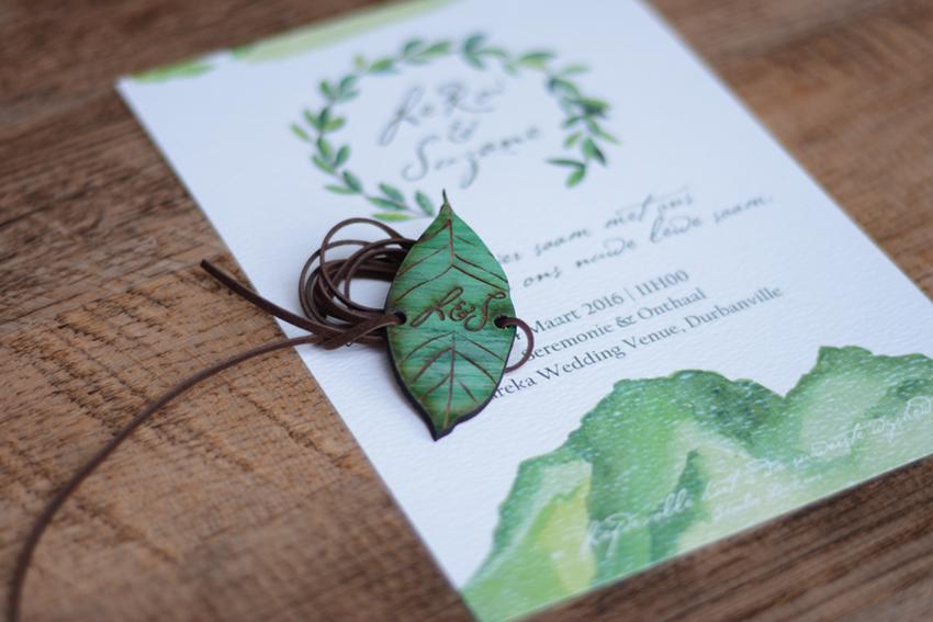 Leroi Suzane Wedding Invite 4