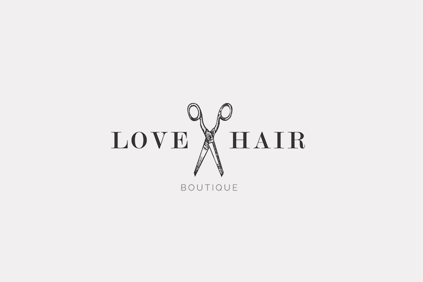 Love Hair Boutique Logo